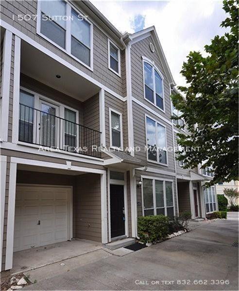 Homes For Rent North Houston: 1507 Sutton St Houston, TX 77006